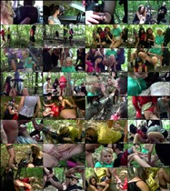 Kate, Leony Aprill, Vanessa Vivien, Dina, Ferrera Gomez, Donna Joe, Alyssia Loop - The Witches Piss Brew Part 1 (2012/FullHD/1080p) [PissingInAction/Tainster] 1.39 Gb