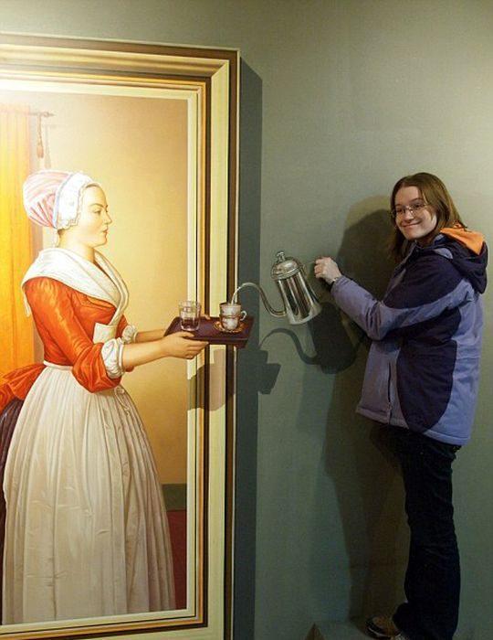 Iluzje optyczne w muzeum 11