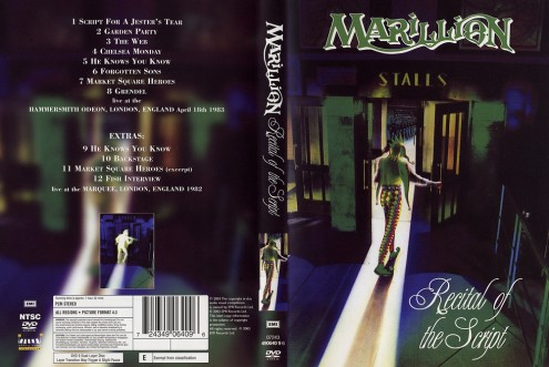 Marillion - Recital Of  The Script (2003) DVD9