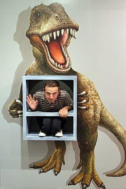 Iluzje optyczne w muzeum 23