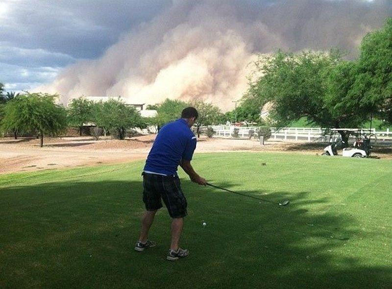 Burza piaskowa w Arizonie 14