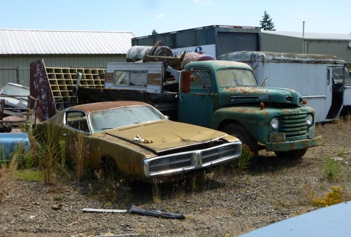 Cmentarzysko samochodów #2 28