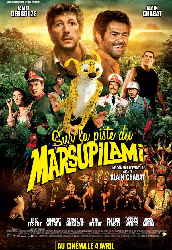 Sur la piste du Marsupilami [FRENCH] [DVDRiP]