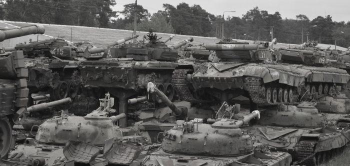 Cmentarzysko czołgów 18