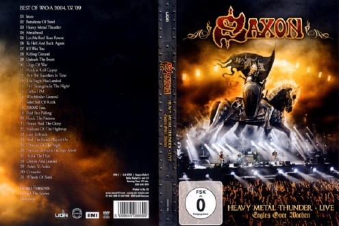 Saxon - Heavy Metal Thunder: Eagles Over Wacken (Limited Edition) 2012