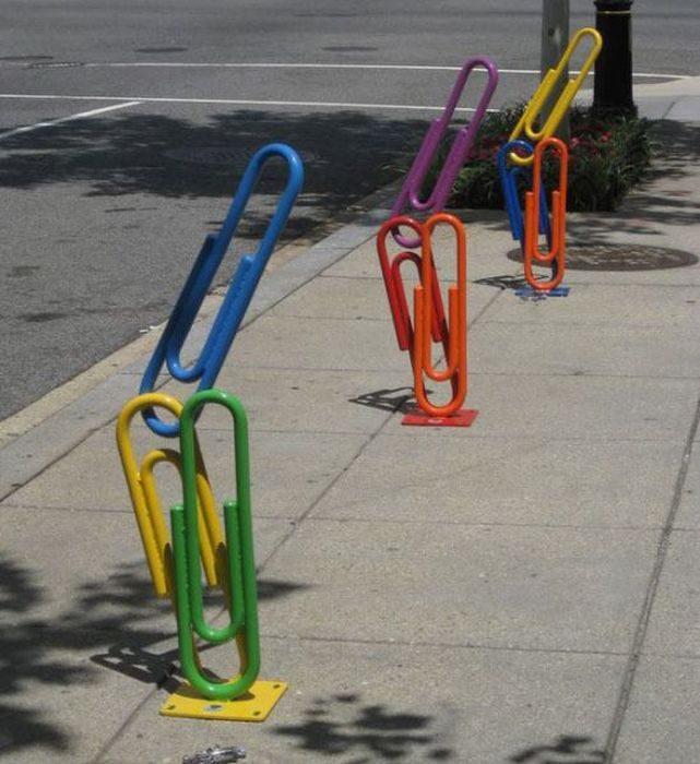 Oryginalne stojaki rowerowe 10
