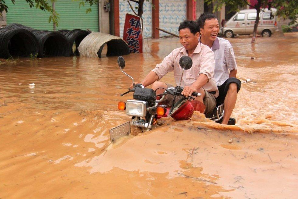 Miasta w czasie powodzi 7