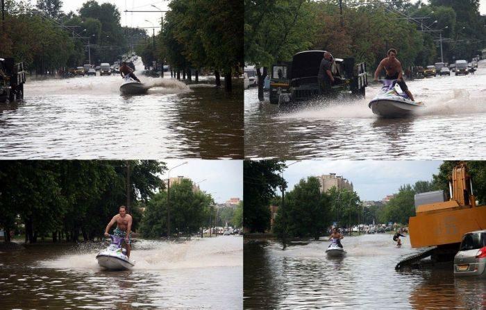 Miasta w czasie powodzi 55