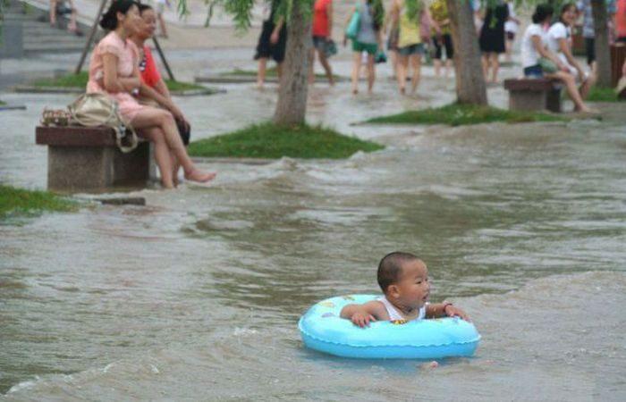 Miasta w czasie powodzi 52