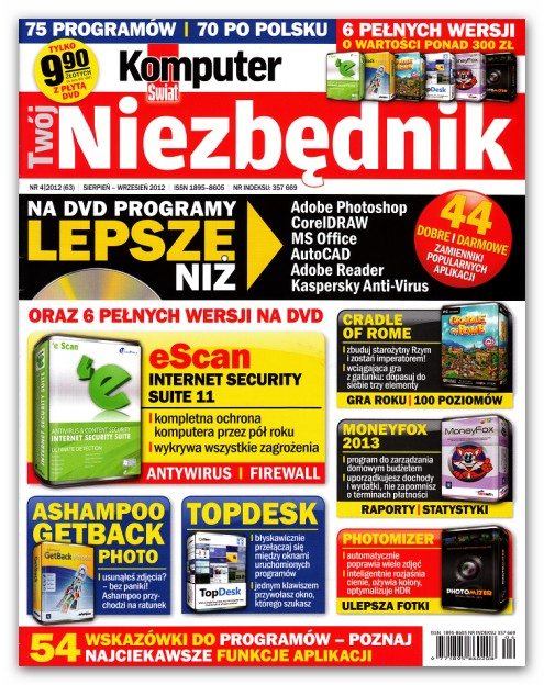 Komputer �wiat Tw�j Niezb�dnik (Niezb�dnik Extra) 2012+2013+2014