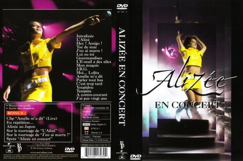 Alizee - En Concert (2004) DVD9