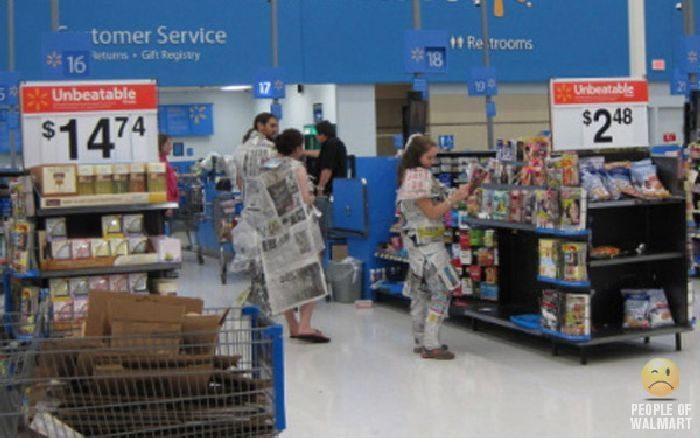 Najdziwniejsi klienci z WalMart #15 16