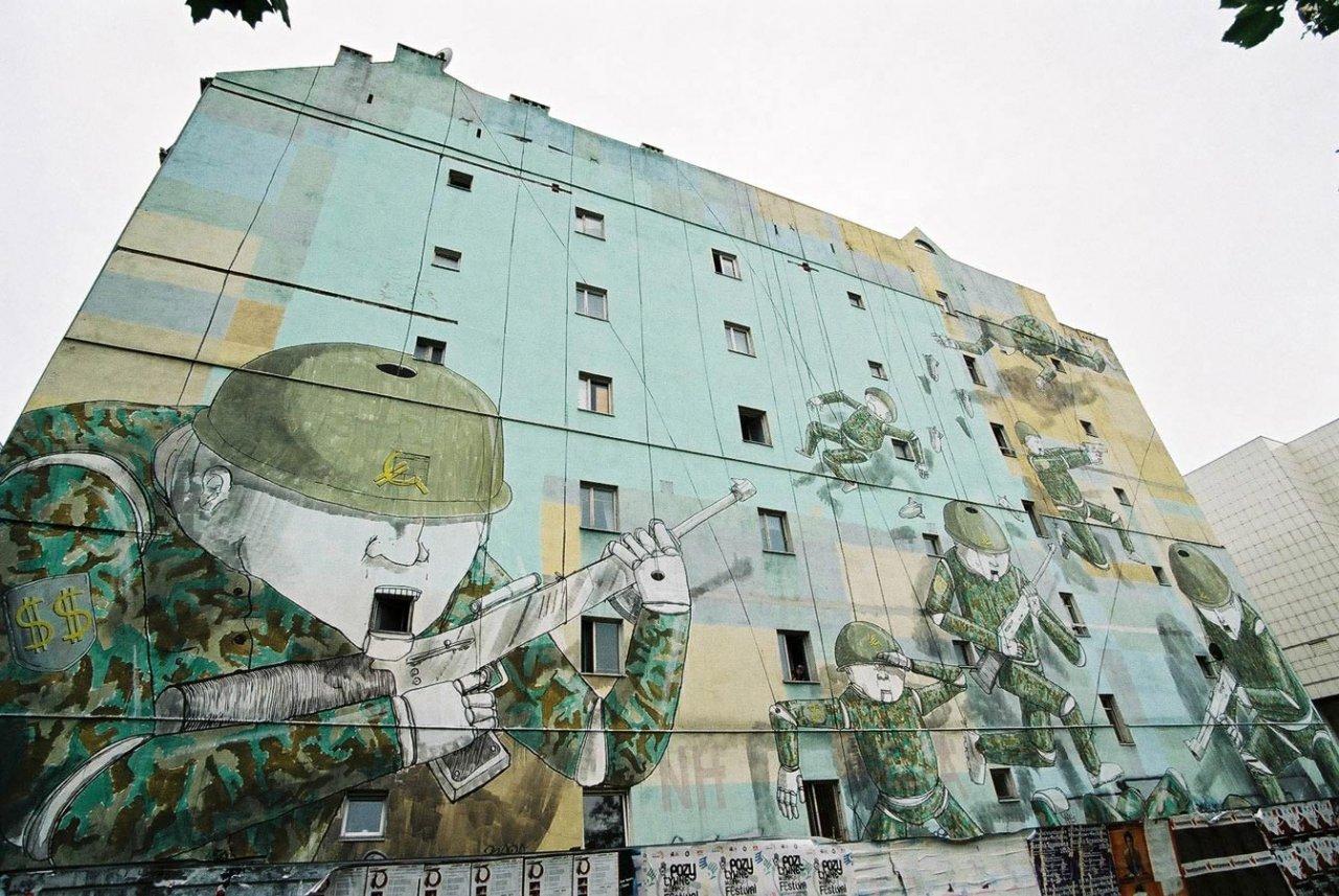 Street Art: Murale 23