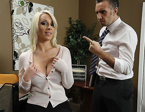 Lexi Swallow - Swallowing her Boss - BigTitsatWork/Brazzers - (2012/FullHD/1080p/1.96 Gb)