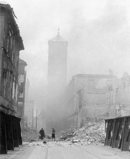 Wrocław  1945 Zniszczenia 29